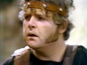 Geoffrey Hughes as Piteous in 'Up Pompeii!' (1970)