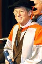 John Hurt receives an honorary Doctor of Letters degree from the University of Hull