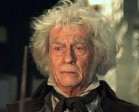 John Hurt as Mr Ollivander in 'Harry Potter and the Philosopher's Stone'