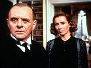Anthony Hopkins (Stevens) and Emma Thompson (Miss Kenton) in 'Remains of the Day'
