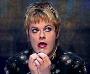 Eddie Izzard the straight transvestite in 'Dress to Kill'
