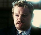 Eddie Izzard as Roman Nagel in 'Oceans Twelve' (2004)