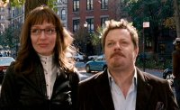 Eddie Izzard & Uma Thurman in 'My Super Ex-Girlfriend' (2006)