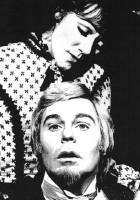 Diane Cilento & Derek Jacobi in 'The Idiot' at the Old Vic in 1970