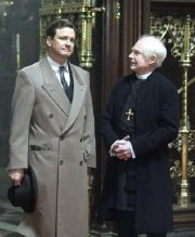 Colin Firth & Derek Jacobi in 'The King's Speech'