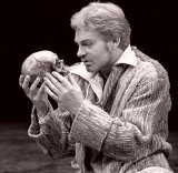 Derek Jacobi in the stage version of Shakespeare's Hamlet in 1979
