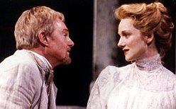 Derek Jacobi & Laura Linney in Chekhov's 'Uncle Vanya'
