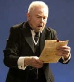 Derek Jacobi as Malvolio in Shakespeare's 'Twelfth Night'