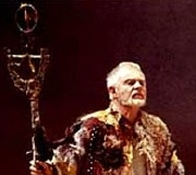 Derek Jacobi as Prospero in Shakespeare's 'The Tempest'