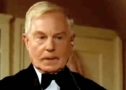 Derek Jacobi as Colonel Protheroe in Agatha Christie's 'Murder at the Vicarage'