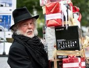 Derek Jacobi as Scrooge in a Christmas commercial for Sony TVs (2010)
