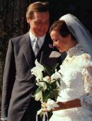 Johan Tham & Jenny Agutter are married in 1990