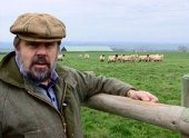Jethro lets a sheep farmer graze his flock on his land to improve its condition