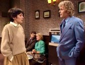 Paul Nicholas & Jan Francis in the first episode of 'Just Good Friends'