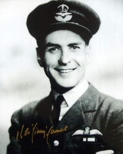 Signed photograph of Squadron Leader 'Jimmy' Jones