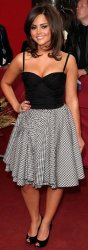 Jenna-Louise Coleman at the 'British Soap' Awards in 2009