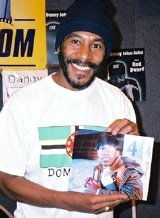 Danny John-Jules with signed photograph