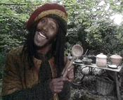 Danny John-Jules as Barrington in Maid Marian and his Merry Men