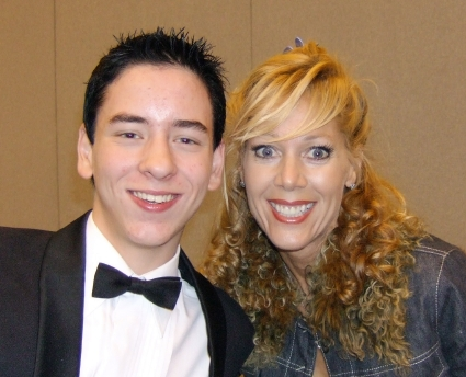 Lynn-Holly Johnson with Ciaran Brown