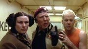 Julie T. Wallace, Brion James & Bruce Willis in 'The Fifth Element'
