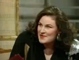 Julie T. Wallace in a 1987 episode of 'French & Saunders'