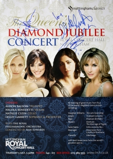 Poster signed by Nicola Benedetti, Alison Balsom & Natalie Clein
