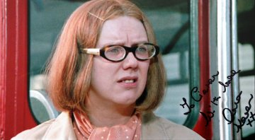 Anna Karen signed photograph from 'Mutiny on the Buses'