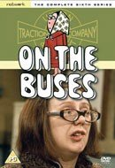 Anna Karen featured on the video sleeve of 'On The Buses' Series 6