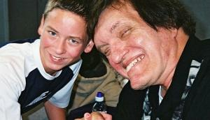 Richard Kiel with Ciaran brown
