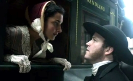 Amber Rose Revah as Helena & Rory Kinnear as Rev Septimus Crisparkle in Dickens 'The Mystery of Edwin Drood' (2010)
