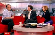 Rory Kinnear interviewed by Charlie Stayt and Sian Williams on BBC Breakfast in March 2011