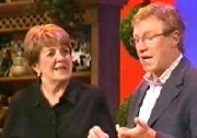 Maggie Kirkpatrick and Paul O'Grady in 'The Paul O'Grady Show' (2005)