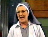 Maggie Kirkpatrick as Sister Maureen in 'Hey Dad..!' (1992)
