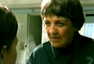 Maggie Kirkpatrick As Viv 'The Guv' Standish in 'Home and Away' (2003)