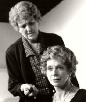 Maggie Kirkpatrick & Susannah York in 'The Shoe-Horn Sonata' in London 2005