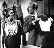 Rosalind Knight & Leslie Phillips in Carry On Teacher