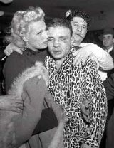 Jake LaMotta after he had lost the World Middleweight title to Sugar Ray Robinson in 1951