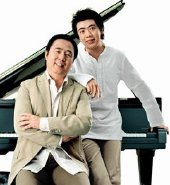 Lang Lang with his father Lang Guoren