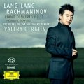Lang Lang Rachmaninov cd for Deutsche Grammophon