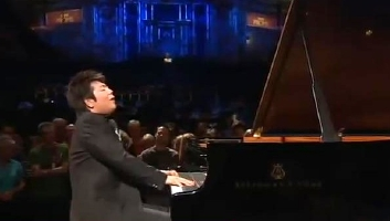 Lang Lang performs at a 2008 Promenade Concert in the Royal Albert Hall in London