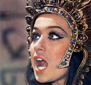 Valerie Leon as Princess Tera in Blood From The Mummy's Tomb