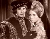 Mark Lester & Felicity Dean in 'Crossed Swords'