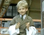 Mark Lester as Gerald in 'Allez France'