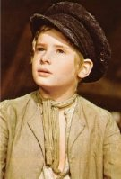 Mark Lester as Oliver Twist in the film version of 'Oliver!'