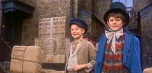 Mark Lester & Jack Wild in the film version of 'Oliver!'