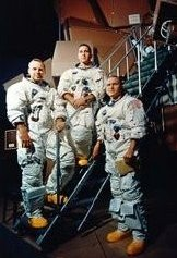 Jim Lovell, William Anders & Frank Borman - crew of Apollo 8