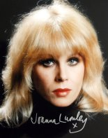 Joanna Lumley signed photograph