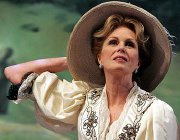 Joanna Lumley as Madame Renevskaya in Chekhov's 'The Cherry Orchard' at The Crucible Theatre in Sheffield