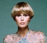 Joanna Lumley as Purdey (with her 'Purdey Bob' hairstyle) in 'The New Avengers'
