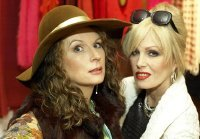 Jennifer Saunders & Joanna Lumley in 'Absolutely Fabulous'